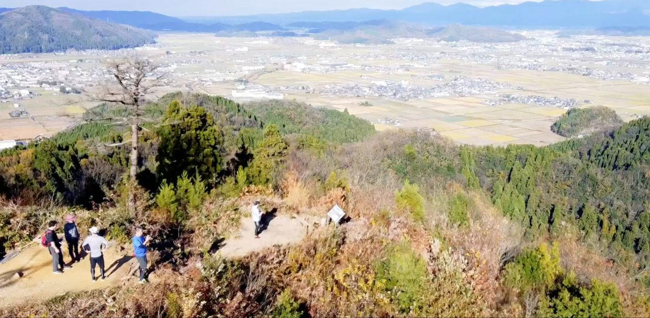 三床山 福井県 鯖江市 越前町 登山